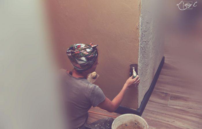 peinture d'intérieur et décoration