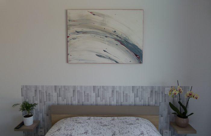Tableau Mur blanc