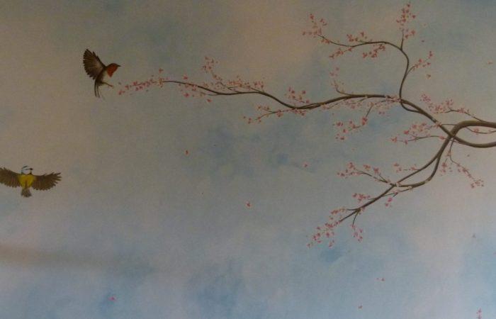 Décor peint à Gimont