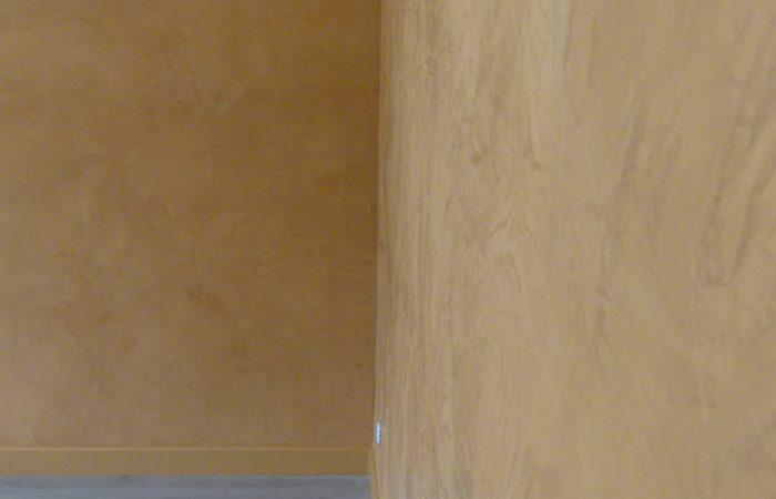 Enduit Décoratif effet stucc pour un salon à L'Isle Jourdain